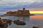 Castella Photos - Le Castella Castle by Gualtiero Boffi