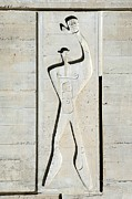 Proportions Metal Prints - Le Corbusier Design Metal Print by Chris Hellier