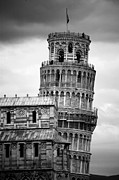 Leaning Building Prints - Leaning Tower Print by © Bernard Tan. All RIghts Reserved.