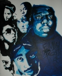 B.i.g. Framed Prints - Legends Together Framed Print by Matt Burke