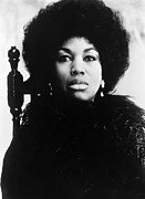 1970s Framed Prints - Leontyne Price, American Opera Singer Framed Print by Everett