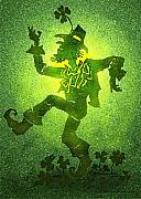 Leprechaun Digital Art - Leprechaun by Kevin Middleton