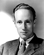 Howard Framed Prints - Leslie Howard, Portrait Framed Print by Everett