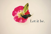 Beatles Metal Prints - Let it be. Metal Print by Kim Fearheiley