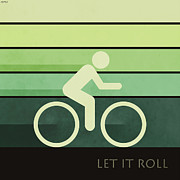 Sports Digital Art Metal Prints - Let It Roll Metal Print by Phil Perkins
