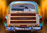 Woodie Car Digital Art - Let the good times Roll by Ron Regalado