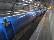 Fundamental Prints - Lhc Tunnel, Cern Print by David Parker