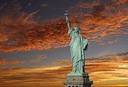 Statue Of Liberty Photos - Liberty II by Christian Heeb