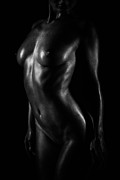 Body Scape Prints - Light Print by David  Naman