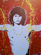 Jim Morrison Paintings - Light My Fire by Austin James