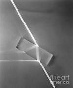 Critical Prints - Light Refraction Print by Berenice Abbott