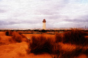 Beach Pastels - Lighthouse by Stefan Kuhn