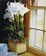 Richard T Pranke Art - Lillies by Richard T Pranke