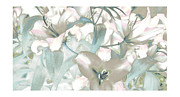 Lilies Framed Prints Framed Prints - Lily Garden Framed Print by Jayne Logan