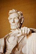 Abraham Lincoln Framed Prints - Lincoln Memorial Framed Print by Brian Jannsen