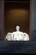 National Memorial Prints - Lincoln Memorial, Washinton D.c., Usa Print by Terry Moore