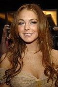 Directors Guild Of America (dga) Theater Posters - Lindsay Lohan At Arrivals For A Prairie Poster by Everett