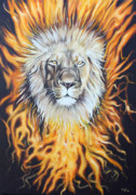 Ilse Kleyn Acrylic Prints - Lion of Judah Acrylic Print by Ilse Kleyn