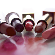 Glamour Photos - Lipsticks by Bernard Jaubert