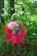 Child Ballerina. Photos - Little girl in fairy costume in the forest by Gordana Sermek
