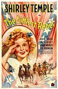 Littlest Rebel, Shirley Temple, 1935 Print by Everett