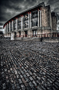 Cobbles Prints - LLoyds Building Print by Adrian Evans