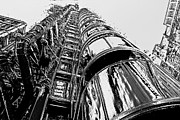 London England  Digital Art - Lloyds Building central London  by David Pyatt