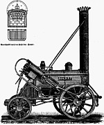 Boiler Photos - Locomotive: Rocket, 1829 by Granger
