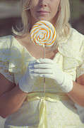 Blond Photos - Lollipop by Joana Kruse