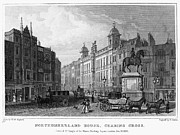 Charing Cross Framed Prints - London: Charing Cross, 1830 Framed Print by Granger