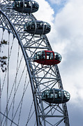 Pods Photo Framed Prints - London Eye Framed Print by Dawn OConnor