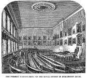 Meetinghouse Prints - London: Royal Society Print by Granger