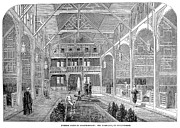 Bathhouse Posters - London: Turkish Bath, 1862 Poster by Granger