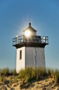 New England Lighthouse Prints - Long Point Lighthouse Print by John Greim