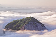 Mountain Photographs Posters - Looking Glass Rock Poster by Rob Travis