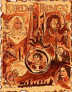 Movie Mixed Media Originals - Lord of the Rings by Jason Kasper