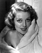 Bare Shoulder Prints - Loretta Young Print by Everett