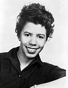 Playwright Framed Prints - Lorraine Hansberry 1930-1965 African Framed Print by Everett