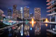 Hall Originals - Los Angeles Skyline by Marius Sipa