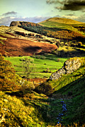Castleton Framed Prints - Lose Hill And Great Ridge Framed Print by Darren Burroughs