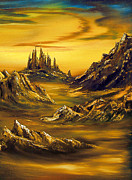 Vin Painting Prints - Lost World Print by Cynthia Adams