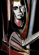 Vicious Painting Prints - Lou Reed Print by Fabrice Plas