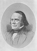 Agassiz Prints - Louis Agassiz, American-swiss Naturalist Print by Science, Industry & Business Librarynew York Public Library