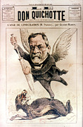Caricature Prints - Louis Pasteur (1822-1895) Print by Granger