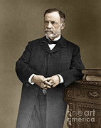Fermentation Photo Posters - Louis Pasteur, French Chemist Poster by Omikron