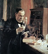 Sour Prints - Louis Pasteur, French Microbiologist Print by