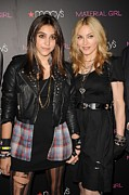 Material Girl Prints - Lourdes Leon, Madonna At In-store Print by Everett