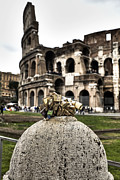 Eternal Prints - love locks in Rome Print by Joana Kruse