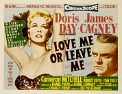 1955 Movies Photo Framed Prints - Love Me Or Leave Me, Poster Art, Doris Framed Print by Everett