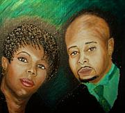 Keenya Woods   Prints - Lovers and Friends Print by Keenya  Woods